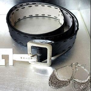 Anne Klein Leather Belt